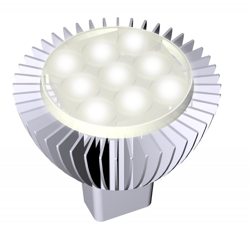 The MR16 LED replaces Halogen technology. There are no gases...