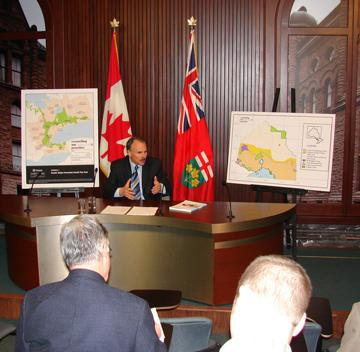 (December 4, 2007) Ontario's Environmental Commissioner, Gor...